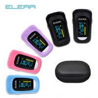 Oxímetro De pulso para Dedo ELERA, el más nuevo, oxímetro SPO2 PR PI ODI4, oxímetro De Dedo, 8 horas De sueño, Monito pulsioxímetro