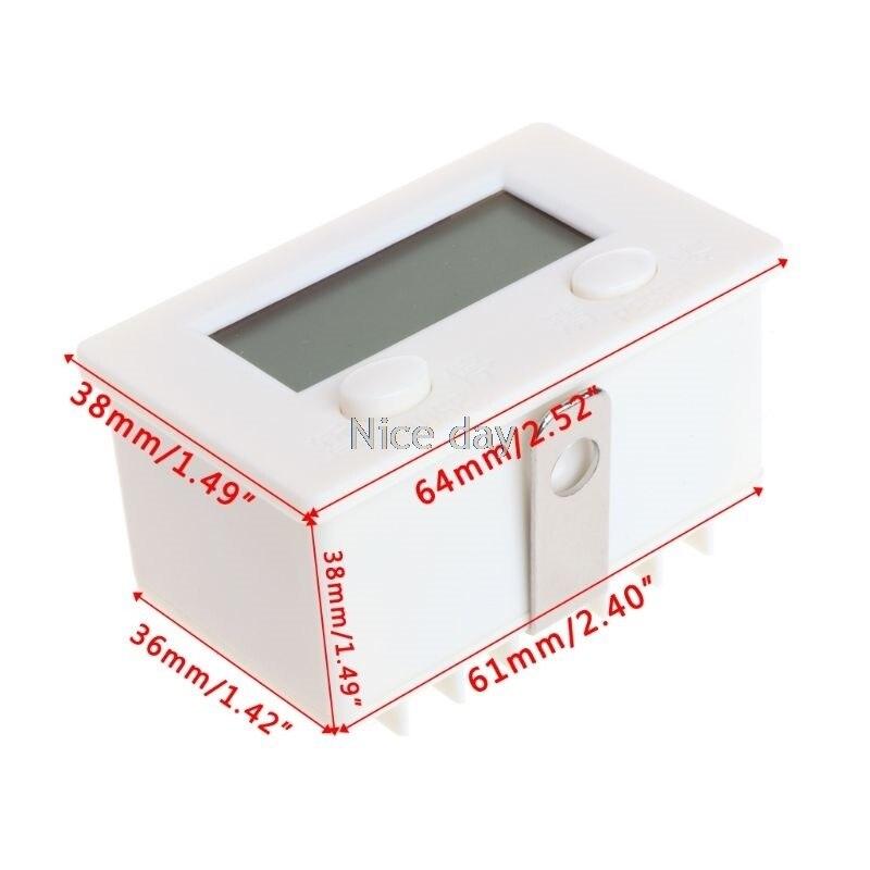 Lcd digital de 5 dígitos perfurador contador
