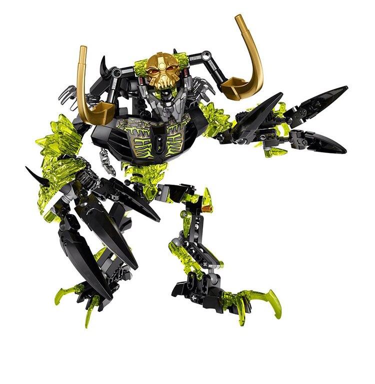 Bionicle Umarak Destruidor Bioquímica Guerreiro Building Block Brinquedos KSZ 614 Compatível com 71316 Bionicle