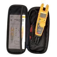 Fluke T6 1000 Clamp Continuity Current Electrical Tester Clamp MeterField Sense WIth Original Fluke Sofyt Case