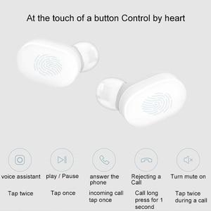 Image 2 - 원래 xiao mi mi airdots pro 흰색 진정한 무선 이어폰 tws bluetooth v5.0 헤드셋 스테레오 소음 감소 공기 이어 버드