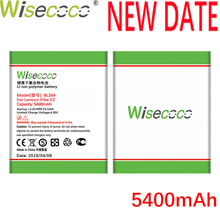 Wisecoco BL264 5400mAh 3.8V Battery For Lenovo Vibe C2 C 2 Power Phone Replacement + Tracking Number