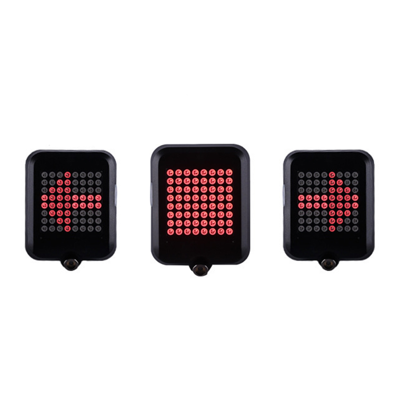 Bicycle Light Bicycle Mountain Bike Smart Turn Lights Brake Lights Projection Laser Light Warning Safety Light Riding Equipment