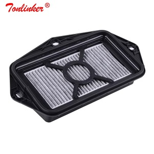 Image 2 - 3 holes Cabin Air Filter For Vw Passat Golf Touran Audi Skoda Octavia Yeti Seat Altea Leon Efficient Anti PM2.5 External Filter