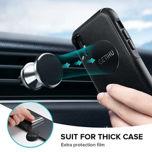 Image 2 - GETIHU voiture Support de téléphone magnétique évent montage Support de téléphone portable aimant GPS Support pour iPhone 12 11 Pro X Max Xiaomi HuaweI
