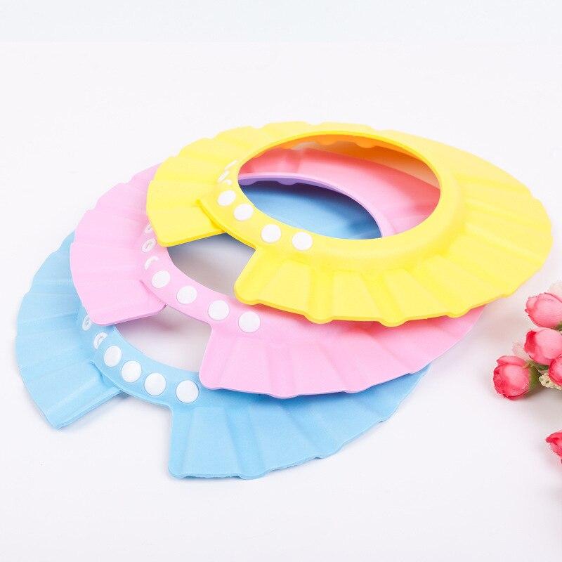 Infant Shower Cap Shower Cap Infants Children Regulation Shampoo Cap Multi-color Selectable Maternal And Child Supplies