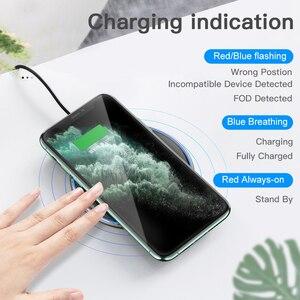 Image 3 - Essager 15W Qi Draadloze Oplader Voor Iphone 12 11 Pro Xs Max Mini X Xr 8 Inductie Snelle Draadloze opladen Pad Voor Samsung Xiaomi
