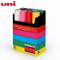 Uni Posca PC 17K Paint Marker Pen Extra Broad Tip 15mm 8colors Set rotulador|Art Markers|Education & Office Supplies -