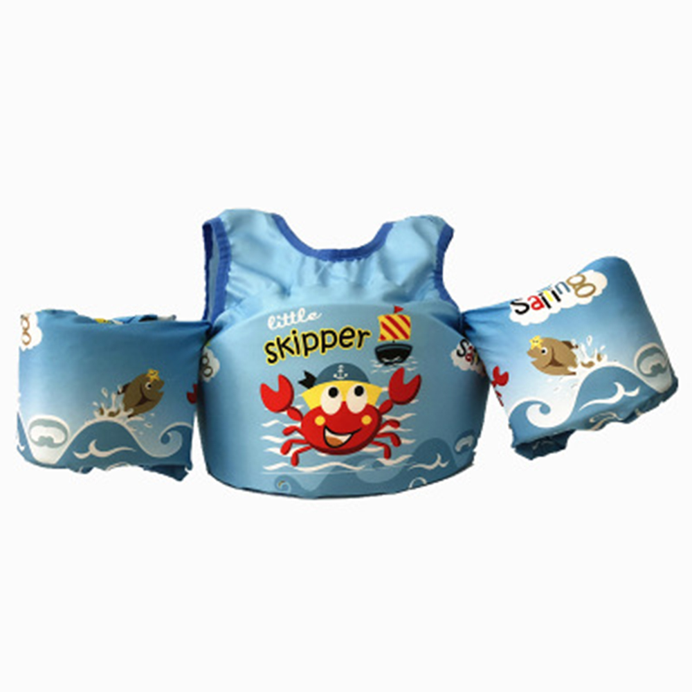 Baby Float Cartoon Arm Sleeve Life Jacket Jacket Swimsuit Safety Swimming Training Sleeves Armlets Floating Pool Float Swimming