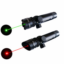 купить Green / Red Dot Laser Sight Set Tactical Weapon Adjustable Remote Pressure Switch Rifle Scope Sight + Rail Mount For Gun Hunting по цене 710.58 рублей