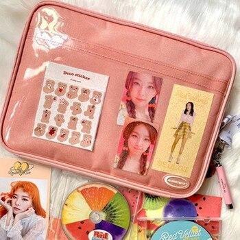 Tablet case laptop storage bag  South Korea ins girl heart  ipad11/13/15 inch tablet laptop storage bag liner bag 20piece 100% new axp209 qfn48 tablet laptop chips