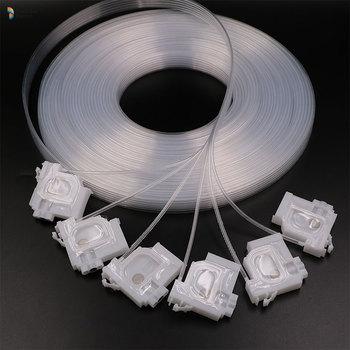 Tłumik atramentu do Epson L1300 L1455 L101 L800 L801 L1800 L810 L850 L101 L201 eko-rozpuszczalnik drukarki wywrotka filtr L1300 wąż przepustnicy tanie i dobre opinie Starcolor JP (pochodzenie)