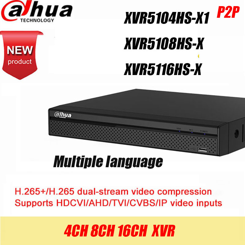 Dahua DVR XVR5108HS-X XVR5116HS-X  8ch 16ch Up to 6MP H.265S mart Search Digital Video Recorder contact seller for discount