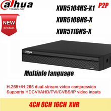 Dahua DVR XVR5108HS X XVR5116HS X  8ch 16ch Up to 6MP H.265S mart Search Digital Video Recorder contact seller for discount