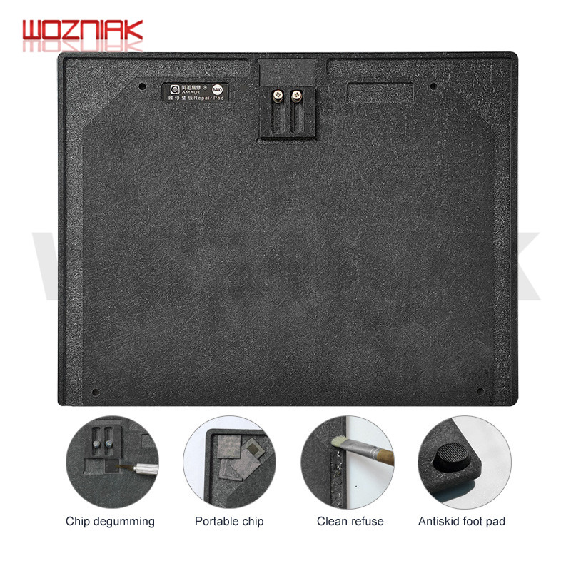 WOZNIAK NAND CPU CHIP IC Fixed Fixture Pad For Iphone High Hemperature Resistant Working Table