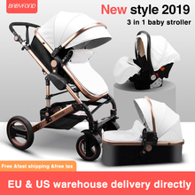 3 in 1 baby stroller High landscape baby stroller sleeping b