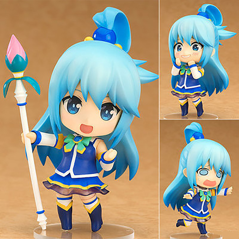 KonoSuba: God's Blessing On This Wonderful World! Akua Anime Figures Q Ver. Action Figure Collectible Model Toy Gifts Figure