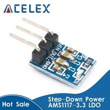 1PCS AMS1117-3.3 LDO 800MA DC 5V to 3.3V Step-Down Power Supply Module