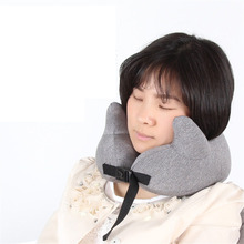 Neck Pillows Soft Travel Pillow Cervical Airplane 28X28X11CM Healthcare Bedding