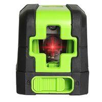 2 linha infrad nível auto nivelamento verde/feixe vermelho 110 ° estender ângulo measurie ferramenta nova|Níveis de laser| |  -