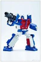 New Transformation PAPA TOYS PPT 05 Ultra Magnus mini Robot Action Figure