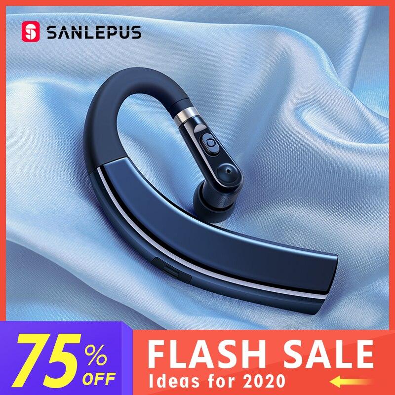 SANLEPUS M11 Bluetooth אוזניות אלחוטי אוזניות דיבורית Earbud אוזניות עם HD מיקרופון עבור טלפון iPhone xiaomi סמסונג