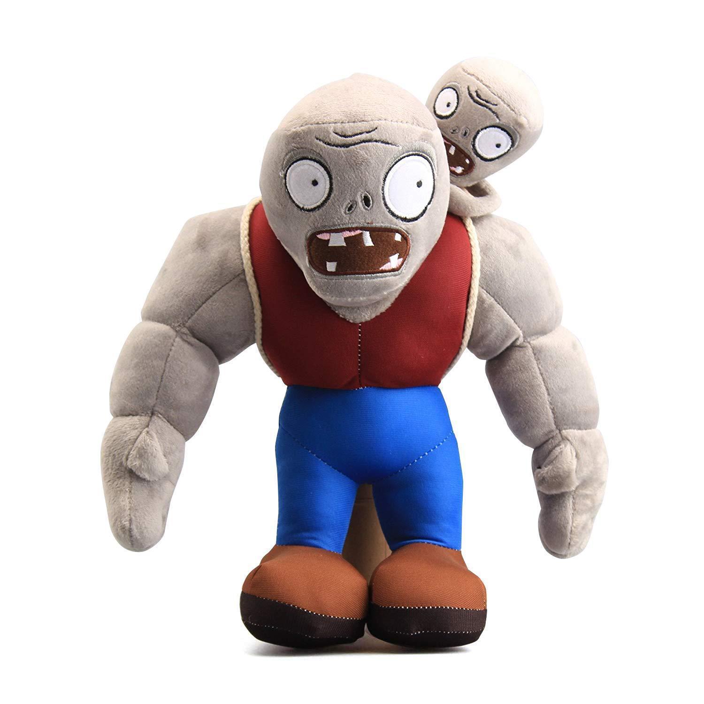 32cm Cartoon Plants VS Zombies Gargantuar Zombie Plush Toys PVZ Gargantuar Plush Soft Stuffed Toys Doll Gifts For Kids Children