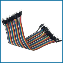 S ROBOT Dupont Cable Raspberry Pi 3 Jumper Wire Male to Male Dupont Line with 20/30cm for Orange Pi Plus 2 for Breadboard RPI147