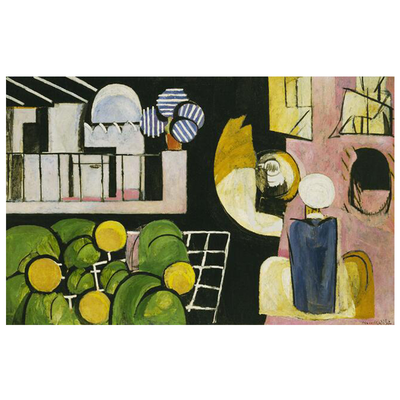 The Dance and Other Abstract Paintings by Henri Matisse Printed on Canvas 12