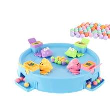 Голодна лягушка, едят бобы, детская доска, игры, игрушка для семьи, конкурентная интерактивная игрушка для снятия стресса