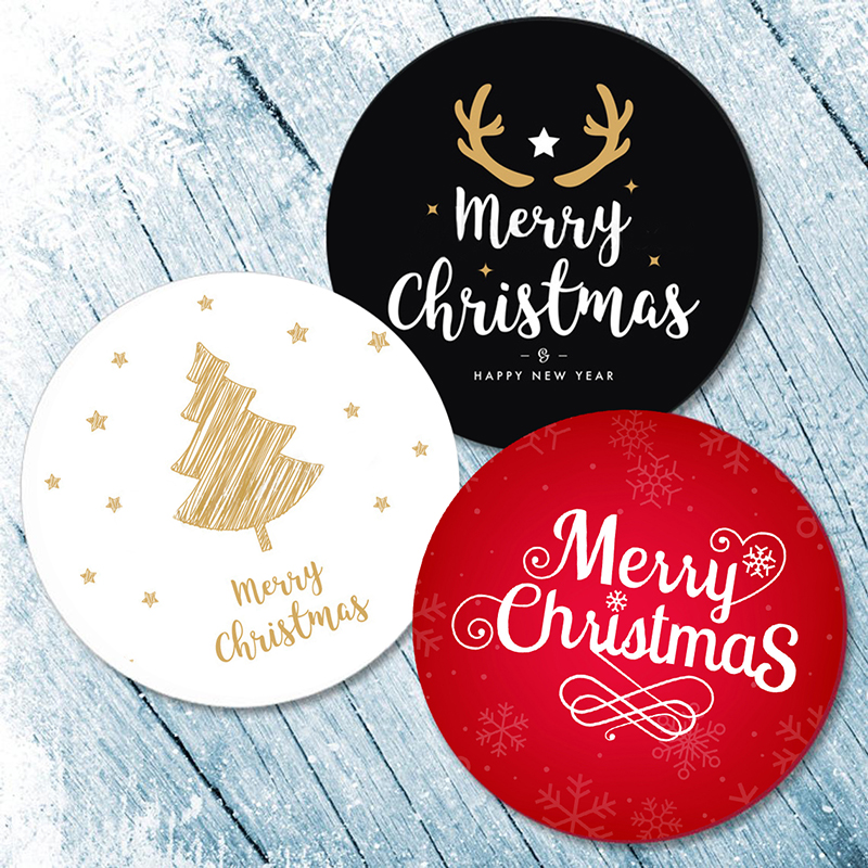 3,5/4,5 см, рождественский подарок, уплотнительные наклейки, самоклеящиеся наклейки, новый год, Рождество, веселая Рождественская вечеринка, ф...