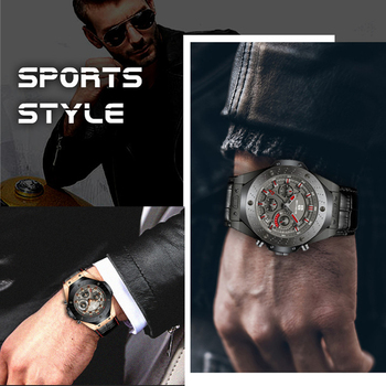 Ben Nevis Men Watches Top Brand Luxury Quartz Leather Watch Men Military Sports Date Analog Watch For Men Relogio Masculino 5