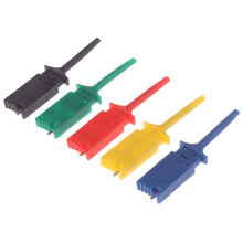 5Pcs/set Meter Tester Leads Test Probe Hook For SMD IC Test Clips SMD IC Hook 4.9 x 1cm