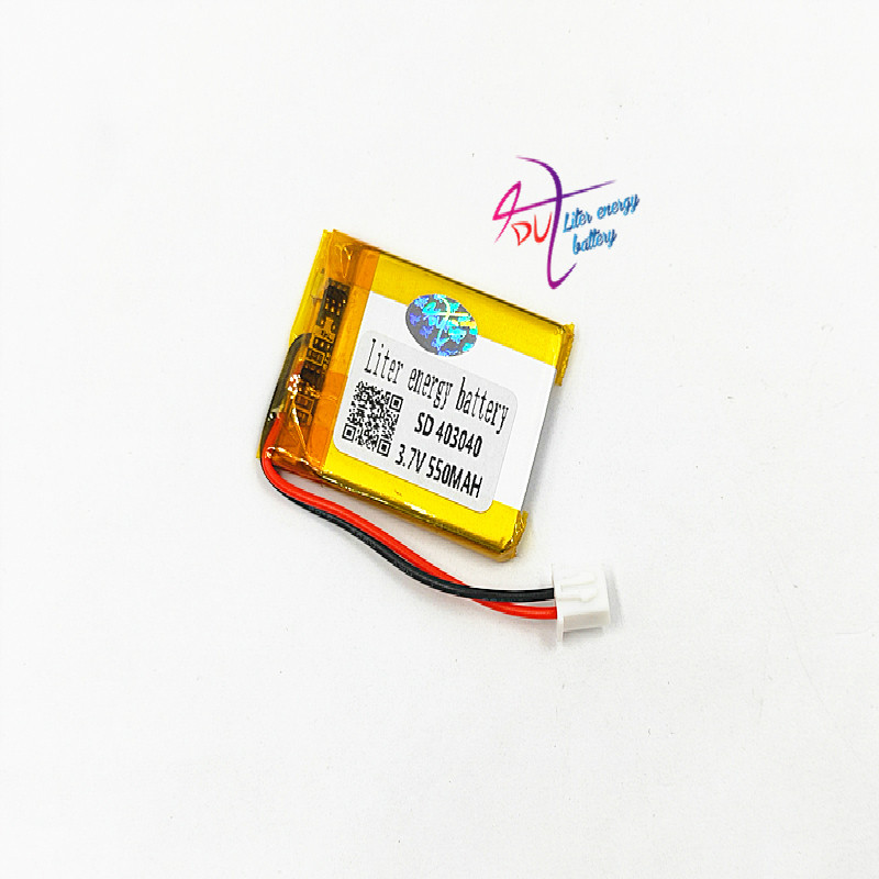 JST XH 2.54mm 10PCS 403040 3.7V 550MAH Lithium Polymer LiPo Rechargeable Battery For Mp3 headphone PAD DVD bluetooth camera
