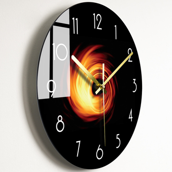 Luxury Art Silent Modern Design Wall Clock Electronic Novelty Simple Wall Clock Creative Children Kitchen Klok Home Watch New