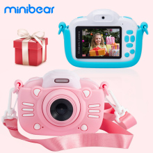Minibear Children Camera mini Digital Camera For Kid 1080P HD Video Camera Kids Camcorder Toddler Camera Toy Gift For Birthday