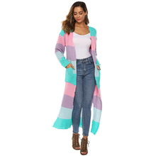 Buy Pregnant Women Pregnancy Coats Outerwear Long Sleeve Knitted Sweater Women Open Stitch Casual Sweters Women Loose Cardigan directly from merchant!