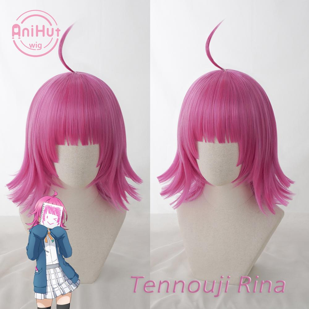 【Anihut】Tennouji Rina Cosplay Wig PERFECT DREAM PROJECT Cosplay Hair Tennouji Rina LoveLive PDP