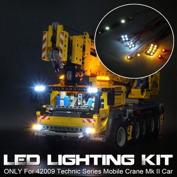 LED Light Up Kit For 42009 Technic Series for Mobile Crane for MK II Car Bricks Toys (Model Not Included) image