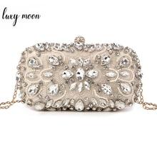 Bolsa de mão feminina para casamento, bolsa de mão com pérolas, saco de confeiteiro, bolsa de mão de luxo com amortecedor