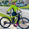 Xama mulheres manga longa skinsuit equipe profissional bicicleta roupas de ciclismo outono calças collants ropa ciclismo mujer speedsuit wear 8