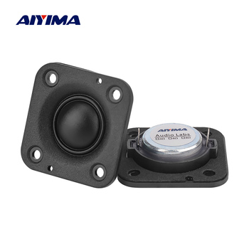 AIYIMA 2Pcs 2 Inch Mini Speaker Tweeter 4 Ohm 20W Neodymium Dome Silk Membrane Speakers Home Theater Treble Audio Loudspeaker image