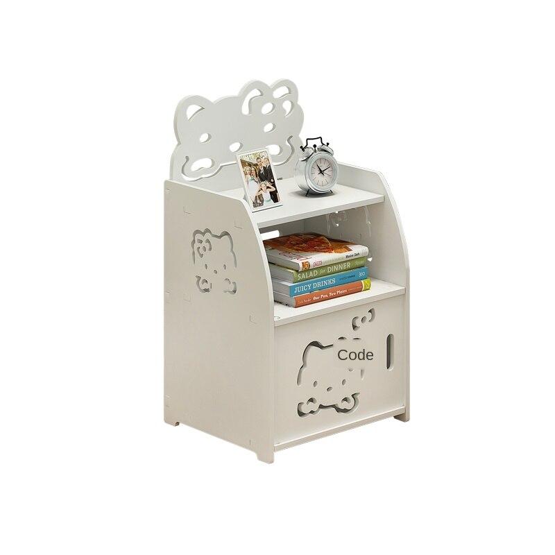 Простой современный прикроватный столик в сборе, гостиная, ПВХ шкафчик для детской спальни, узкий шкафчик, небольшой шкаф для хранения, приг