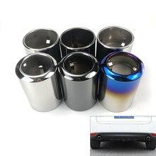 Para mazda 6 atenza CX 5 CX 4 CX 30 mazda 3 axela tubo de escape aço inoxidável silenciador capa acessórios automóveis