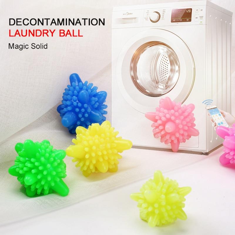 10 Pcs Magic Laundry Ball Household Cleaning Washing Machine Clothes Solid  PVC Magic Cleaning Balls Softener Starfish Shape|Laundry Balls & Discs| -  AliExpress