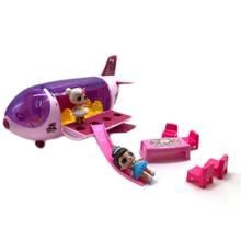 Куклы LOL surprise, оригинальные куклы lols, самолет, экшн-модель, игрушки-сюрприз, подарки на день рождения для маленькой девочки, без коробки