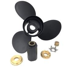 Подвесной пропеллер Алюминиевый Пропеллер для Mercury Mariner 14 1/4X21 25-70 Hp черный 48-832832A45 лодочный пропеллер