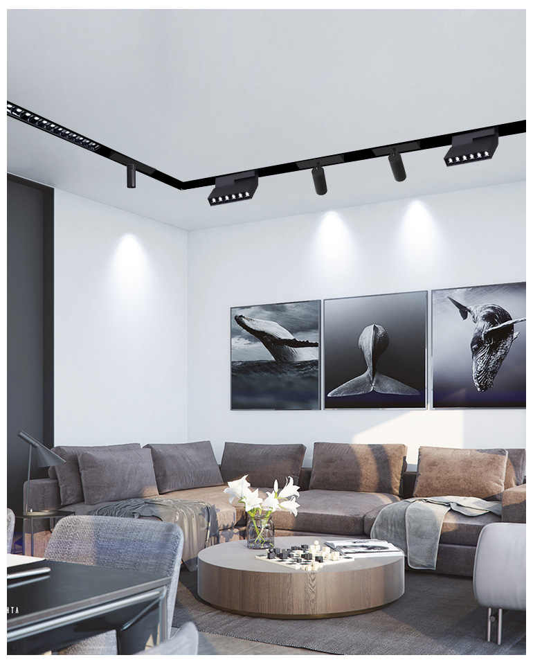 Magnetic Suspended Ceiling Lamp Led