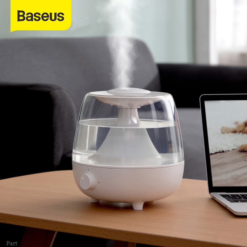 Baseus Humidifier Aroma Diffuser Difusor For Home Office 2.4L Large Capacity Air Humidifier Essential Oil Humidificador