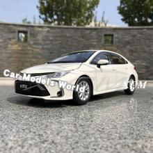 Diecast รุ่นรถสำหรับ Corolla ใหม่ 2019 (สีขาว) + ของขวัญขนาดเล็ก!!!!